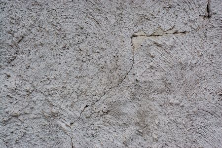 gritty: Detail of a crumbling rendered wall. Stock Photo