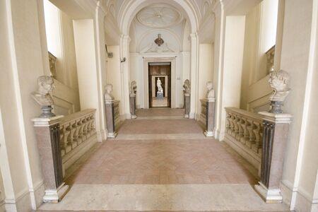 Empty museum in Rome. 写真素材