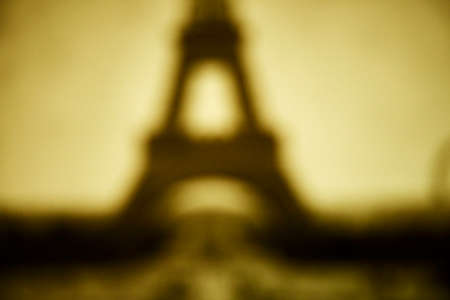 french culture: A horizontal abstract version of the Eiffel Tower
