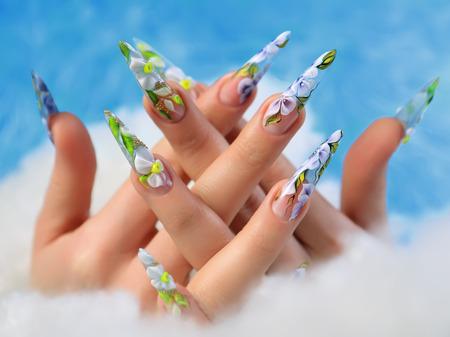 Nails summer design.
