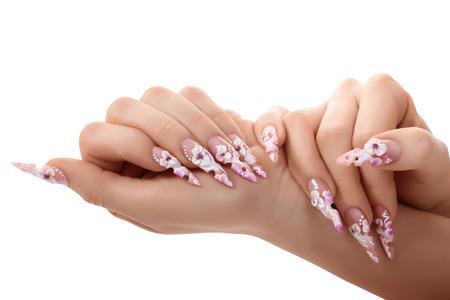 nail art: Nail art manicure