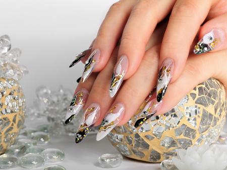 Studio nail art. 스톡 콘텐츠