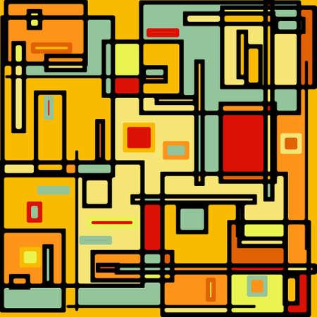 abstractionism: Resumen patr�n geom�trico del vector de colores. EPS 8