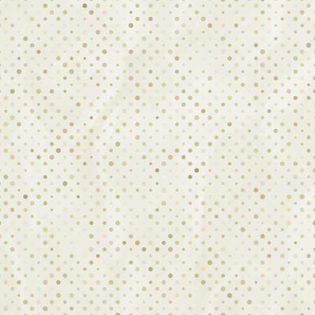 Elegant aged and worn paper with polka dots  EPS 8 Vector