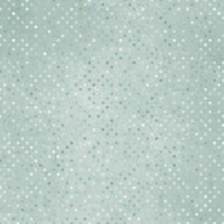 Aged and worn paper with polka dots Vector