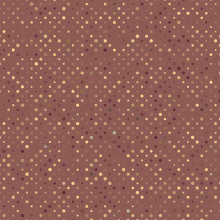 Aged and worn paper with polka dots