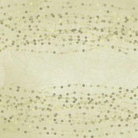 Polka dot design green template
