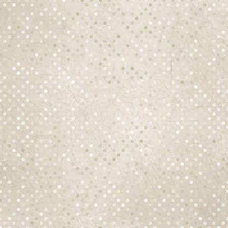 Vintage polka dot texture illustration