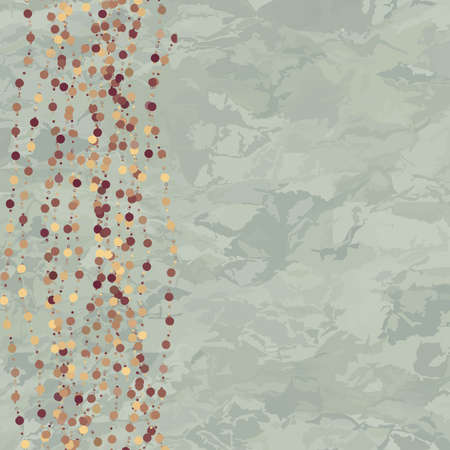 Vintage background with dots Vector