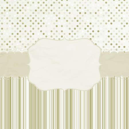 Template frame design for greeting card  EPS 8  向量圖像