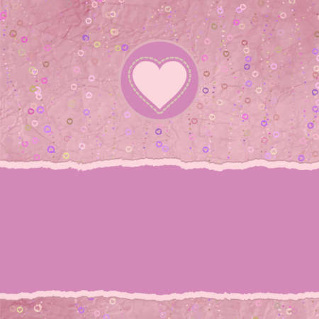 placeholder: Valentine card with placeholder