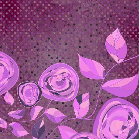 igrave: &Igrave,intage flower template, floral background