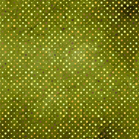 worn paper: Aged and worn paper with polka dots