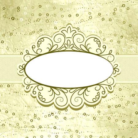 fragmentary: San Valent�n elegante tarjeta con el coraz�n