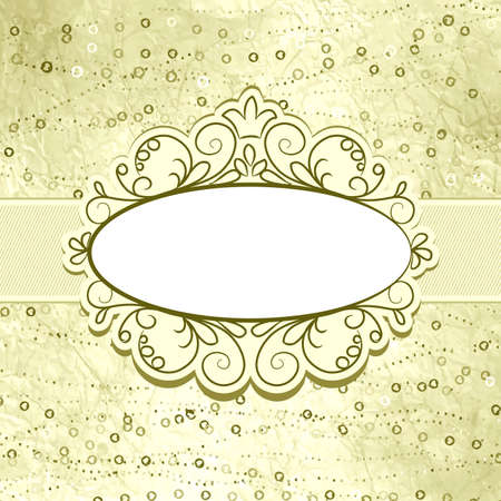 Valentine elegant card with heart