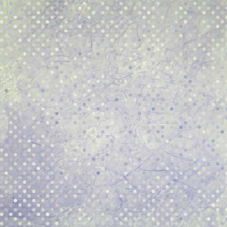 worn paper: Aged and worn paper with polka dots  EPS 8
