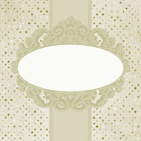 Vintage floral card  EPS 8 Stock Vector - 14610229