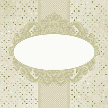 Vintage floral card  EPS 8 Stock Vector - 14610229