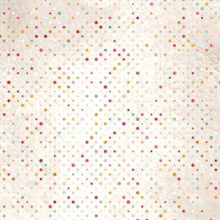 pattern pois: Colorful modello a pois sul cartone, EPS, 8 Vettoriali