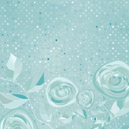 Beautiful retro rose pattern  EPS 8 Stock Vector - 14923981