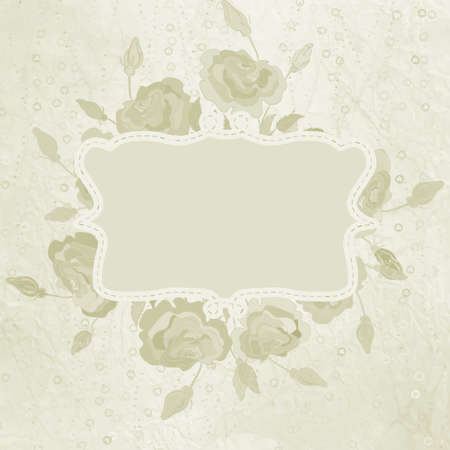 Elegant Vintage card template  Vector