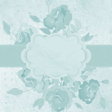 Elegant Vintage card template  EPS 8 Vector