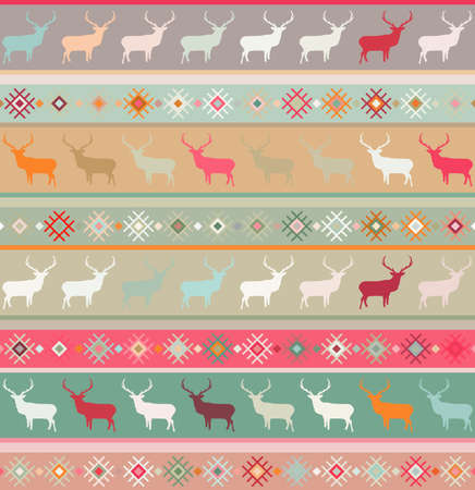 nordic country: Norwegian seamless pattern