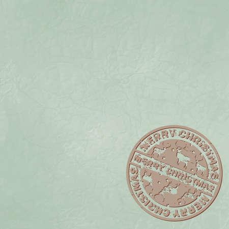 Christmas stamp Stock Vector - 16077332
