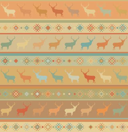 colorfully: Norwegian seamless pattern   Illustration