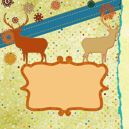 Christmas Invitation card template Stock Vector - 16388816