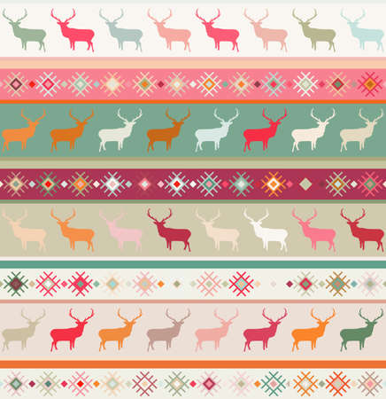 Norwegian seamless pattern   Illustration