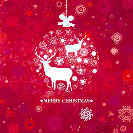 Christmas Invitation card template Stock Vector - 16516499