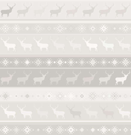 Norwegian seamless pattern  Vector