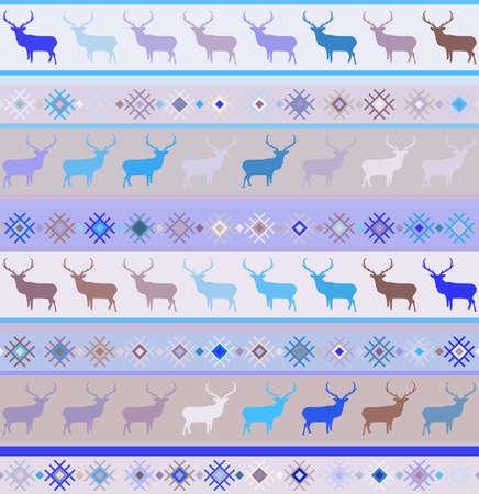 Norwegian seamless pattern Stock Vector - 16641362