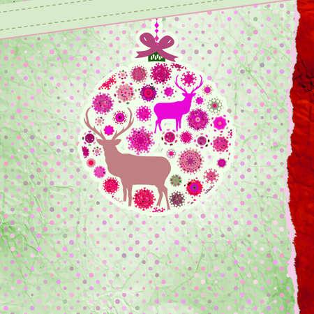Christmas Invitation card template Stock Vector - 16714572