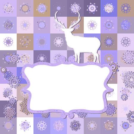 Christmas Invitation card template  EPS 8 Stock Vector - 16933939