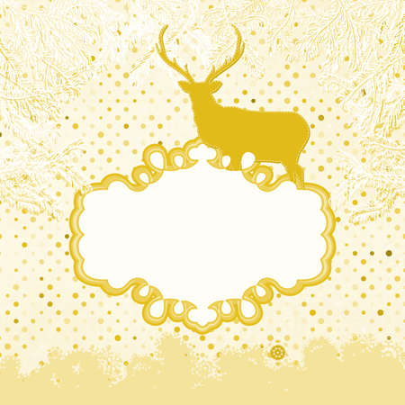 Christmas Invitation card template  EPS 8 Stock Vector - 16933938