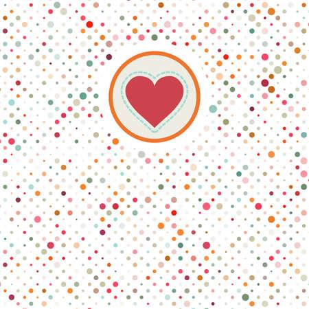 Valentine polka dots Stock Vector - 17045696