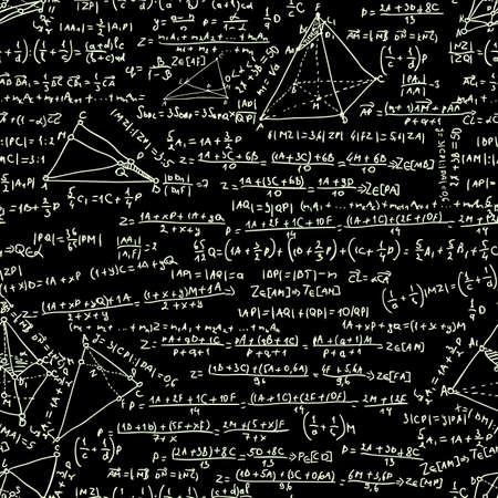 Maths seamless pattern. Und auch EPS 8 vector Standard-Bild - 17874253