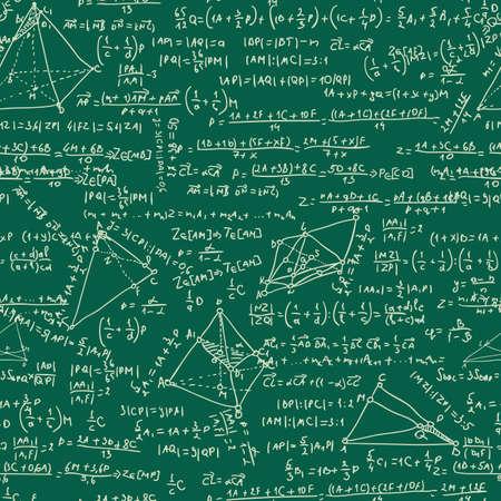 Maths seamless pattern