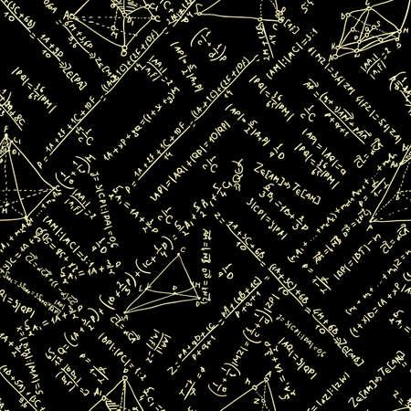Maths seamless pattern Stock Vector - 18513910