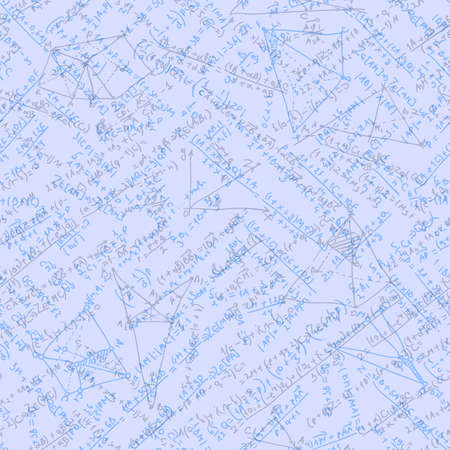 Math seamless background.  Vector