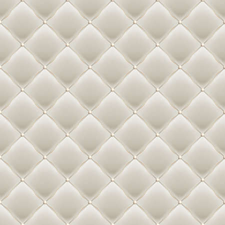 Soft Gloss seamless Quilted Pattern. EPS 10 vector