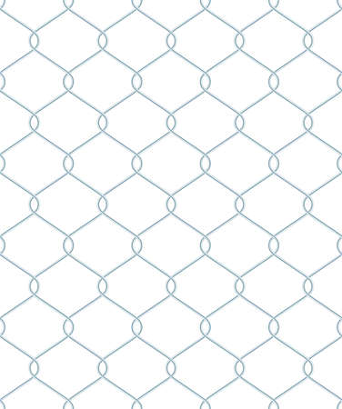 detained: Steel wire seamless mesh. EPS 10 vector