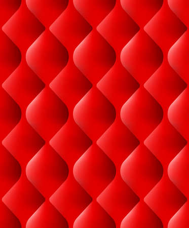 Decorative Upholstery Soft Gloss seamless Quilted Pattern. True Luxury Template. And also includes EPS 10 vector