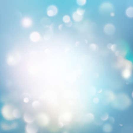 Festivo fondo abstracto elegante con bokeh luces. EPS 10 vector Foto de archivo - 85632055