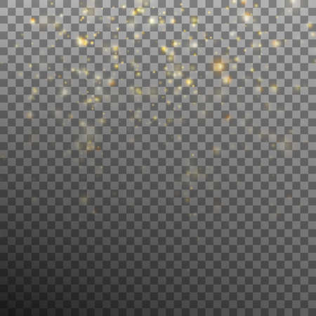 Abstract gold bokeh background includes EPS 10 vector Illustration