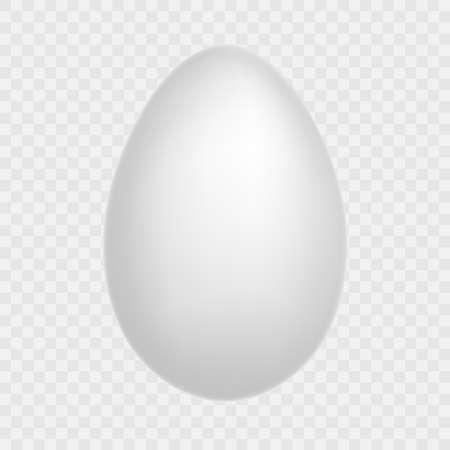 Egg - Isolated On Transparent Background. Natural ecological product. Healthy food. Dietary meal. Easter symbol. And also includes EPS 10 vector