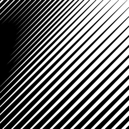 Monochrome, parallel lines abstract geometric pattern. EPS 10 vector 免版税图像 - 92059818