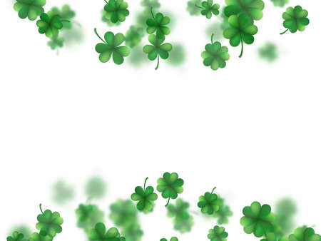 Saint Patricks day frame. EPS 10 vector